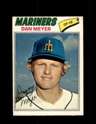 1977 DAN MEYER OPC #186 O-PEE-CHEE MARINERS *R4552