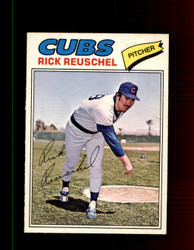 1977 RICK REUSCHEL OPC #214 O-PEE-CHEE CUBS *R4572