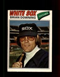 1977 BRIAN DOWNING OPC #246 O-PEE-CHEE WHITE SOX *R4590