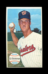 1964 ED BRINKMAN TOPPS GIANT #27 SENATORS *012