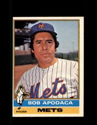 1976 BOB APODACA OPC #16 O-PEE-CHEE METS *6650
