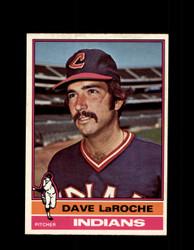 1976 DAVE LAROCHE OPC #21 O-PEE-CHEE INDIANS *3816