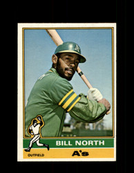 1976 BILL NORTH OPC #33 O-PEE-CHEE ATHLETICS *2073