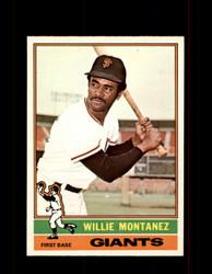 1976 WILLIE MONTANEZ OPC #181 O-PEE-CHEE GIANTS *R4707