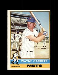 1976 WAYNE GARRETT OPC #222 O-PEE-CHEE METS *R4744