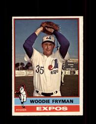 1976 WOODIE FRYMAN OPC #467 O-PEE-CHEE EXPOS *R4950