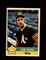1976 JOE RUDI OPC #475 O-PEE-CHEE ATHLETICS *R4958