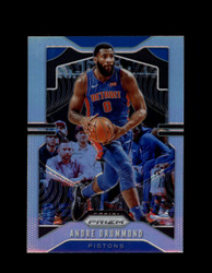 2019 ANDRE DRUMMOND PRIZM #92 SILVER PISTONS *R5282