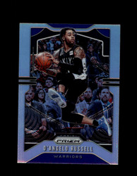 2019 D'ANGELO RUSSELL PRIZM #204 SILVER WARRIORS *R5333