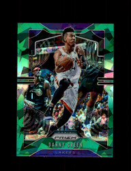 2019 DANNY GREEN PRIZM #60 CRACKED GREEN ICE LAKERS *R5434