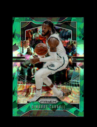 2019 DEMARRE CARROLL PRIZM #82 CRACKED GREEN ICE SPURS *R5421