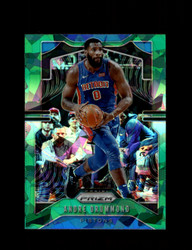 2019 ANDRE DRUMMOND PRIZM #92 CRACKED GREEN ICE PISTONS *R5415