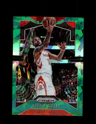 2019 AUSTIN RIVERS PRIZM #213 CRACKED GREEN ICE ROCKETS *R5348