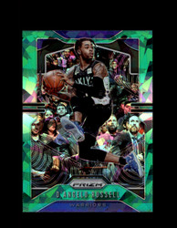 2019 D'ANGELO RUSSELL PRIZM #204 CRACKED GREEN ICE WARRIORS *R5353