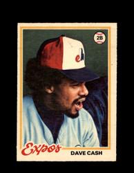 1978 DAVE CASH OPC #18 O-PEE-CHEE EXPOS *R5370