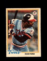 1978 DAN FORD OPC #34 O-PEE-CHEE TWINS *3266