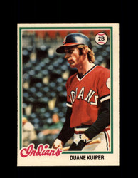 1978 DUANE KUIPER OPC #39 O-PEE-CHEE INDIANS *6694