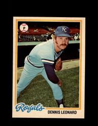1978 DENNIS LEONARD OPC #41 O-PEE-CHEE ROYALS *R1629