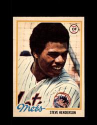 1978 STEVE HENDERSON OPC #53 O-PEE-CHEE METS *1458