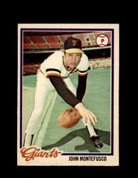 1978 JOHN MONTEFUSCO OPC #59 O-PEE-CHEE GIANTS *5631