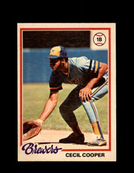 1978 CECIL COOPER OPC #71 O-PEE-CHEE BREWERS *5834