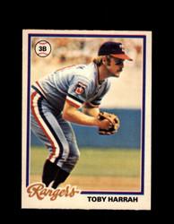 1978 TOBY HARRAH OPC #74 O-PEE-CHEE RANGERS *3744