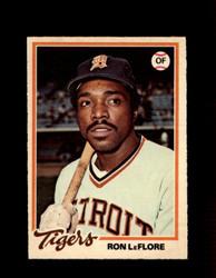 1978 RON LEFLORE OPC #88 O-PEE-CHEE TIGERS *5255