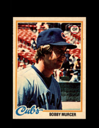 1978 BOBBY MURCER OPC #95 O-PEE-CHEE CUBS *2337