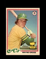 1978 WAYNE GROSS OPC #106 O-PEE-CHEE ATHLETICS *R3255