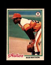 1978 BOB WATSON OPC #107 O-PEE-CHEE ASTROS *R5441
