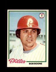 1978 BOB BOONE OPC #141 O-PEE-CHEE PHILLIES *R5462