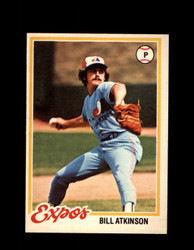 1978 BILL ATKINSON OPC #144 O-PEE-CHEE EXPOS *R5464