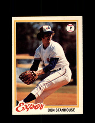 1978 DON STANHOUSE OPC #162 O-PEE-CHEE EXPOS *R5477
