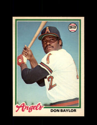 1978 DON BAYLOR OPC #173 O-PEE-CHEE ANGELS *R5487