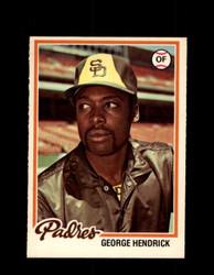1978 GEORGE HENDRICK OPC #178 O-PEE-CHEE PADRES *R5491