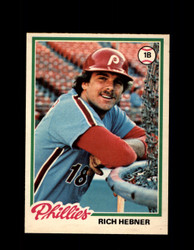 1978 RICH HEBNER OPC #194 O-PEE-CHEE PHILLIES *R5502