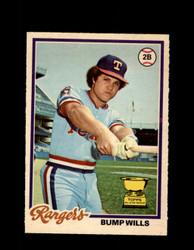 1978 BUMP WILLS OPC #208 O-PEE-CHEE RANGERS *R5513