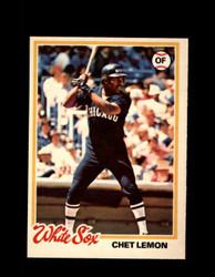 1978 CHET LEMON OPC #224 O-PEE-CHEE WHITE SOX *R5525