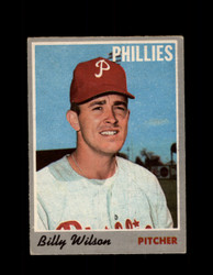 1970 BILLY WILSON OPC #28 0-PEE-CHEE PHILLIES *R5564