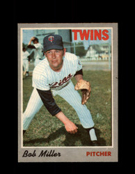 1970 BOB MILLER OPC #47 0-PEE-CHEE TWINS *R5583