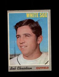 1970 BOB CHRISTIAN OPC #51 0-PEE-CHEE WHITE SOX *R5587