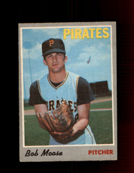 1970 BOB MOOSE OPC #110 O-PEE-CHEE PIRATES *R5637