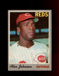 1970 ALEX JOHNSON OPC #115 O-PEE-CHEE REDS *R5642