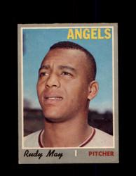 1970 RUDY MAY OPC #203 O-PEE-CHEE ANGELS *R5719