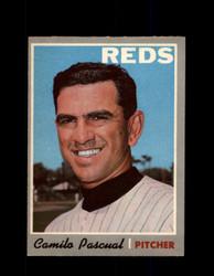 1970 CAMILO PASCUAL OPC #254 O-PEE-CHEE REDS *R5761