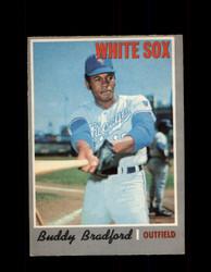 1970 BUDDY BRADFORD OPC #299 O-PEE-CHEE WHITE SOX *R5791