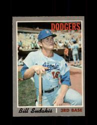 1970 BILL SUDAKIS OPC #341 O-PEE-CHEE DODGERS *R5817
