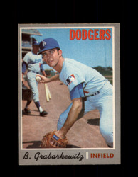 1970 BILLY GRABARKEWITZ OPC #446 O-PEE-CHEE DODGERS *G5854