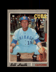 1970 BILL HEATH OPC #541 O-PEE-CHEE CUBS *G6030