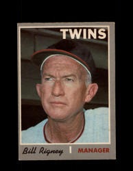 1970 BILL RIGNEY OPC #426 O-PEE-CHEE TWINS MANAGER *G6038